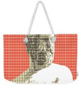 Greek Statue #2 - Orange Weekender Tote Bag