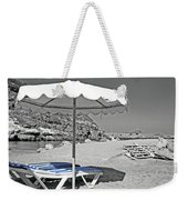 Greek Umbrella Weekender Tote Bag