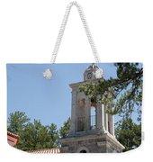 Greek Village Church In The Forest Weekender Tote Bag