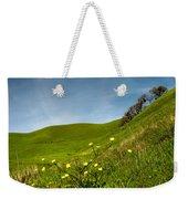 Green 4 Flowers Weekender Tote Bag