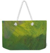 Green Abstract 1 Weekender Tote Bag