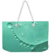 Green Abstract Of Oil Droplet.  Weekender Tote Bag