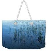 Green And Blue Serenity - Smooth Wetland Morning Weekender Tote Bag