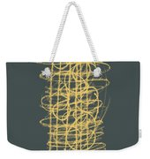 Green And Gold 1 Weekender Tote Bag