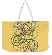 Green And Gold 2 Weekender Tote Bag