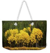 Green And Yellow Weekender Tote Bag
