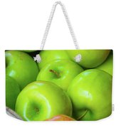 Green Apples Weekender Tote Bag