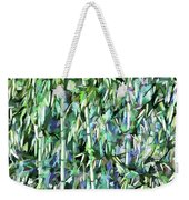 Green Bamboo Tree In A Garden Weekender Tote Bag