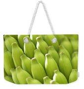 Green Banana Bunch Weekender Tote Bag