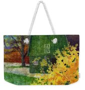 Green Barn Weekender Tote Bag