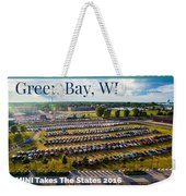 Green Bay Evening 1 W/text Weekender Tote Bag