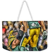 Green Bay Packers Team Art Weekender Tote Bag