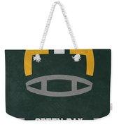Green Bay Packers Vintage Art Weekender Tote Bag