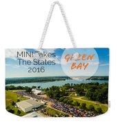 Green Bay Rise/shine 2 W/text Weekender Tote Bag