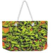 Green Bean Tips Weekender Tote Bag