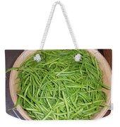 Green Beans  Weekender Tote Bag
