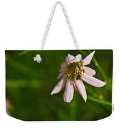 Green Bee Searches For Pollen Weekender Tote Bag
