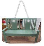 Green Bench Weekender Tote Bag
