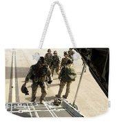 Green Berets Board A C-130h3 Hercules Weekender Tote Bag