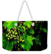 Green Berries Weekender Tote Bag