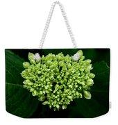Green Bloom Weekender Tote Bag