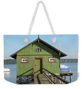 Green Boathouse Weekender Tote Bag