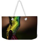 Green Breasted Mango Hummingbird Weekender Tote Bag