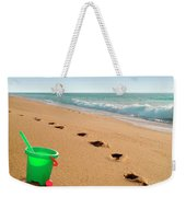 Green Bucket  Weekender Tote Bag
