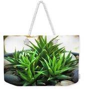 Green Cactus Weekender Tote Bag