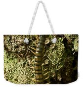 Green Centipede Weekender Tote Bag
