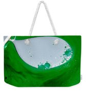 Green Chemicals Abstract Weekender Tote Bag