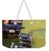 Green Chevy Weekender Tote Bag