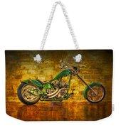 Green Chopper Weekender Tote Bag