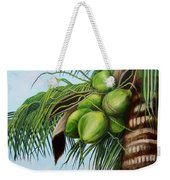 Green Coconuts- 01 Weekender Tote Bag