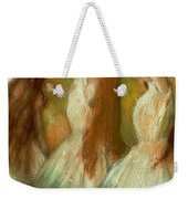 Green Dancers Weekender Tote Bag