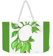 Green Dragon With Fruit Cluster Weekender Tote Bag