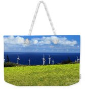 Green Energy Weekender Tote Bag