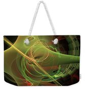 Green Energy Tunnel Weekender Tote Bag