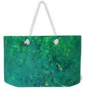 Green Exoplanet Surface Weekender Tote Bag