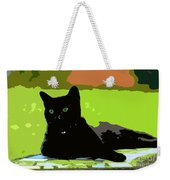 Green Eyes Weekender Tote Bag