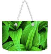 Green False Hellebore Weekender Tote Bag