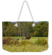 Green Farming Weekender Tote Bag