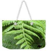 Green Fern 2 Weekender Tote Bag