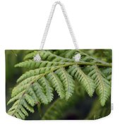 Green Fern Weekender Tote Bag