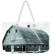 Green Field Barn Weekender Tote Bag