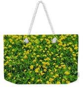 Green Field Of Yellow Flowers 1 Weekender Tote Bag