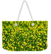 Green Field Of Yellow Flowers 2 1 Weekender Tote Bag