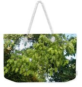 Green Fizalis Plant Weekender Tote Bag
