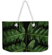Green Foilage Of Indonesia Weekender Tote Bag