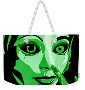 Green Forest Fairy Weekender Tote Bag